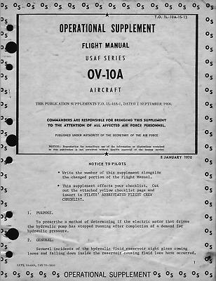 284 Page 1968 1970 OV-10A BRONCO T.O. No. 1L-10A-1S-13