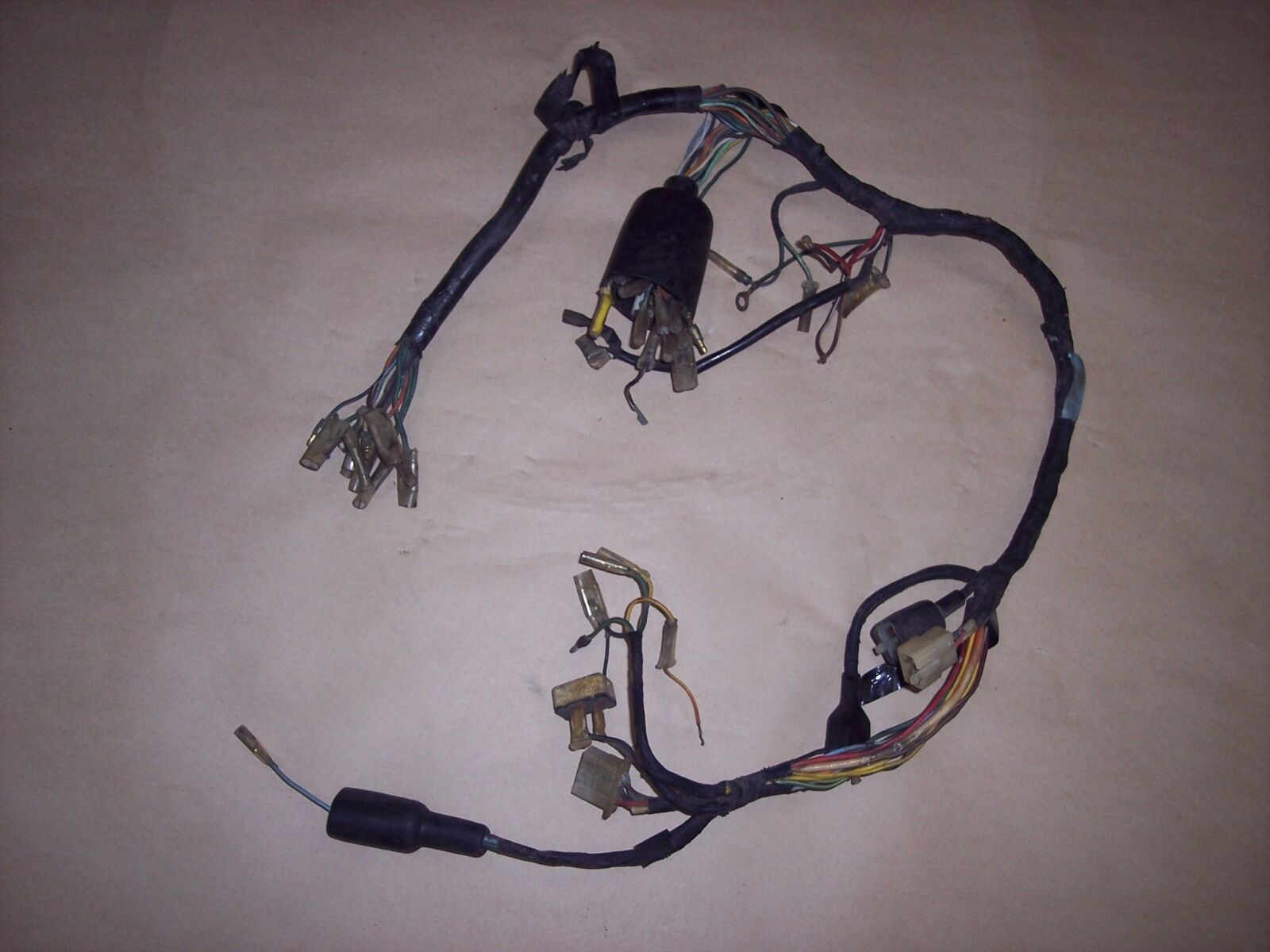 hight resolution of 75 honda cb360 cb 360 oem wire harness wiring loom electrical for sale online ebay