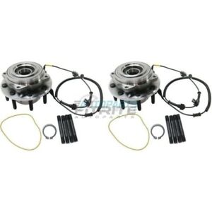 NEW LEFT & RIGHT FRONT HUB ASSEMBLY FOR 2005 FORD F-350