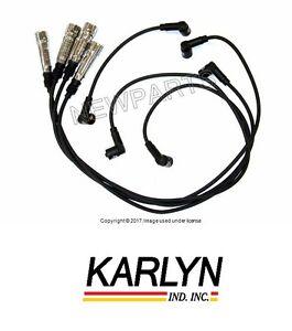 Porsche 924 1977-1982 Ignition Spark Plug Wire Set Karlyn