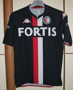 details zu feyenoord rotterdam 2007 2008 away football shirt jersey kappa size yxxl