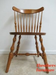 vintage oak dining chairs outdoor cafe table and bent brothers windsor back room side desk chair image is loading