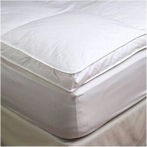 Image Is Loading 2 034 Twin Xl Goose Down Mattress Topper
