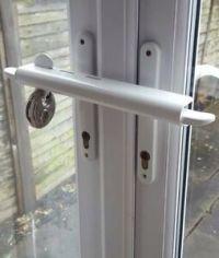 White Patio Door Security French Door Security Patio Door ...