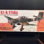 Guillows 1002 Ju 87 B Stutka Giant Balsa Flying Model Kit Nib 1 16 Scale For Sale Online
