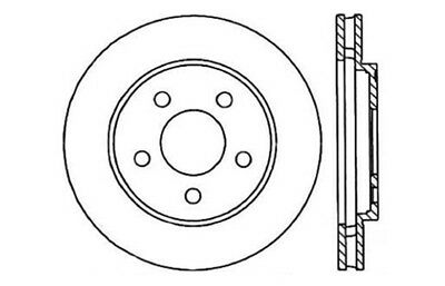 Disc Brake Rotor fits 1987-1987 Plymouth Sundance CENTRIC