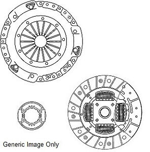 Clutch Kit 3pc (Cover+Plate+Releaser) fits PEUGEOT 807 2