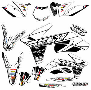 2002 2003 2004 2005 2006 2007 2008 SX 65 GRAPHICS FITS KTM