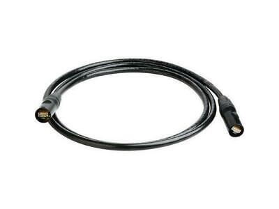 3'FT CAT-6 STP Shielded Ethernet Black Cable w/Neutrik