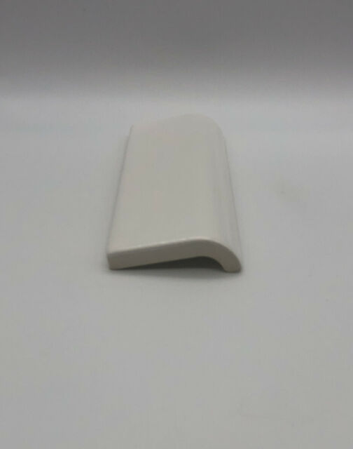 1 american olean a4200ccbp 2 x6 radius bullnose ceramic tile sl10 gloss white