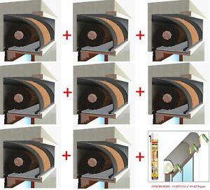 Isolamento termico ed acustico del cassonetto dell'avvolgibile. Pacchetto Stock Cassonetto Tapparelle Kit Plus Sughero Acustico Isolamento 1mt Ebay