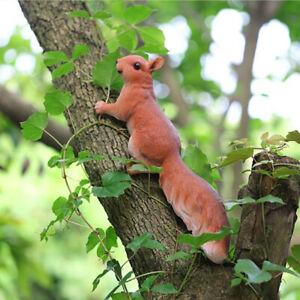 details sur ecureuil figurine ressemblant resine statues animaux decoration pelouse jardin