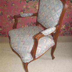 Country French Chairs Upholstered Desk Amazon Ethan Allen Duvall Carved Blue Arm Chair Frequently Bought Together