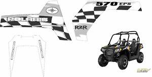 Polaris RZR RANGER 570 800 900 XP 4 GRAPHICS DECALS UTV