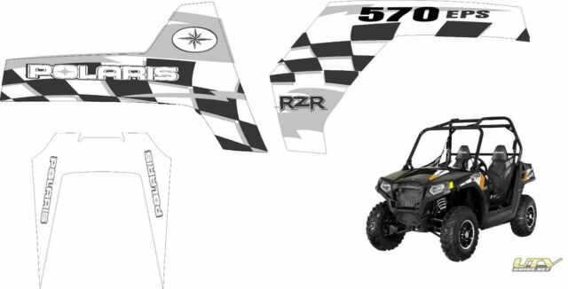 Polaris RZR RANGER 570 800 900 XP 4 GRAPHICS DECALS UTV