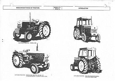 Leyland Tractor 245 253 255 262 270 272 282 344 384 462