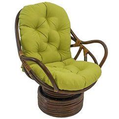 Swivel Chair Cushions Hair Salon Chairs Blazing Needles Solid Twill Rocker Cushion 48 X 24 Mojito Lime Ebay