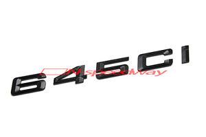 For BMW E63 E64 6 Series 645Ci Matte Black Rear Lid Trunk
