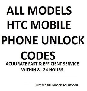 Unlock Code HTC One M8 M8S M9 HTC One Mini 2 Vodafone UK