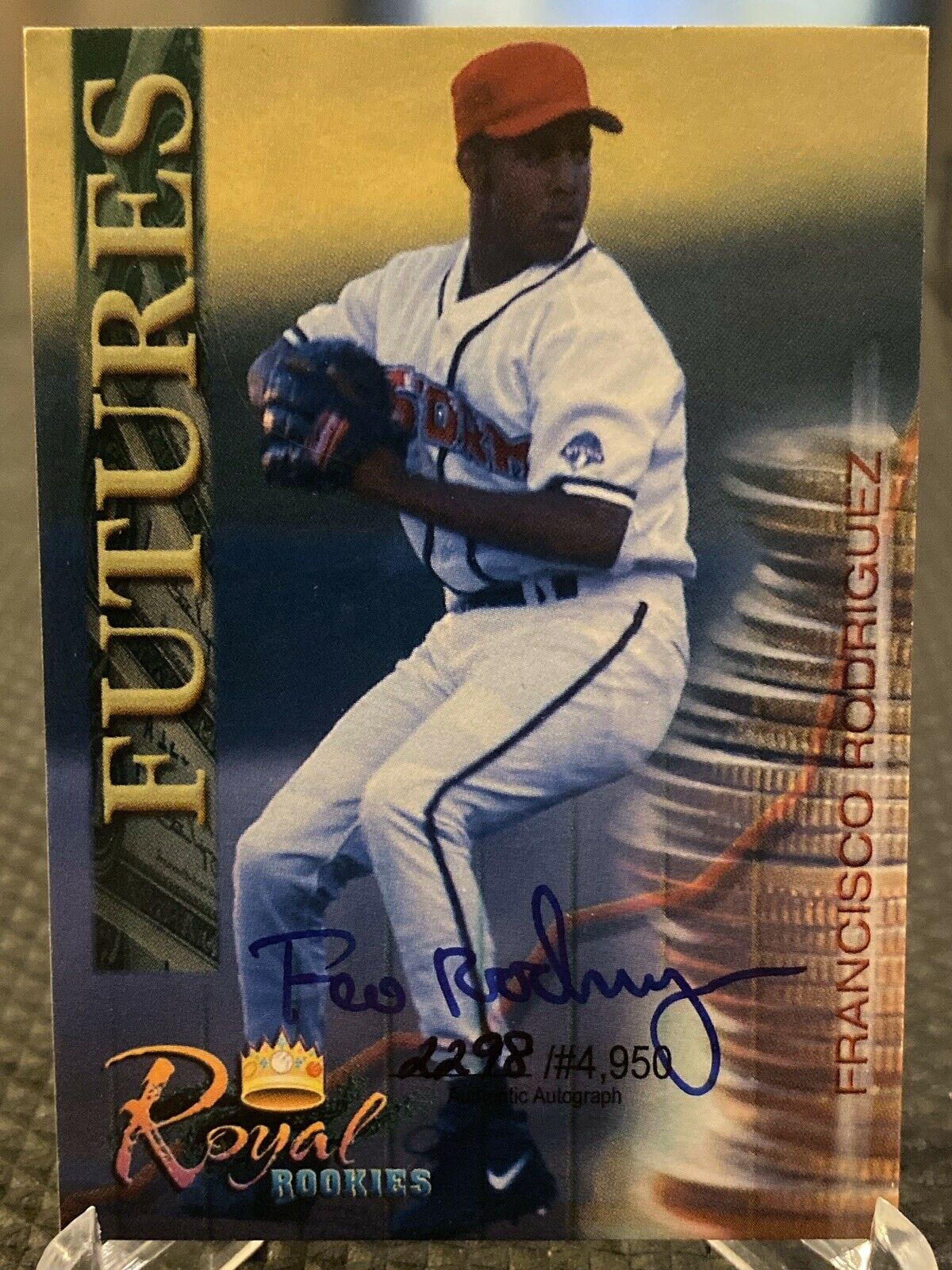 Francisco Rodriguez -K-Rod- 2000 Royal Rookies Futures Autographs #34 2298/4950