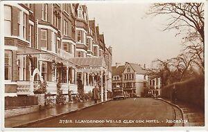 Details About Glen Usk Hotel Llandrindod Wells Radnorshire Rp