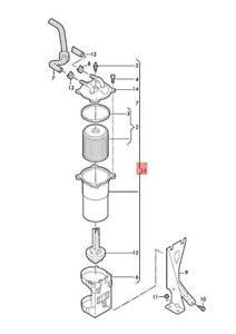 Genuine AUDI A4 Avant S4 quattro Water Trap Fuel Filter
