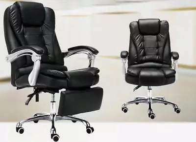 reclining office chairs australia steelcase kart chair with foot rest massager armchairs