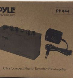 pyle pro pp444 ultra compact phono turntable pre amplifier for sale online ebay [ 1056 x 884 Pixel ]