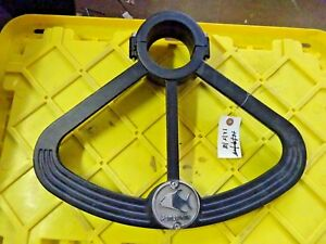 fishing fighting chair parts wing for sale pompanette helm foot rest 3 75 post ebay image is loading 034