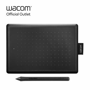 Certified Refurbished One by Wacom Graphic Drawing Art Tablet for Beginners