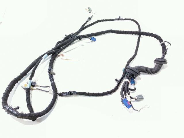 13 Tesla Model S P85 Rear Lift Gate Left Side Wiring Wire