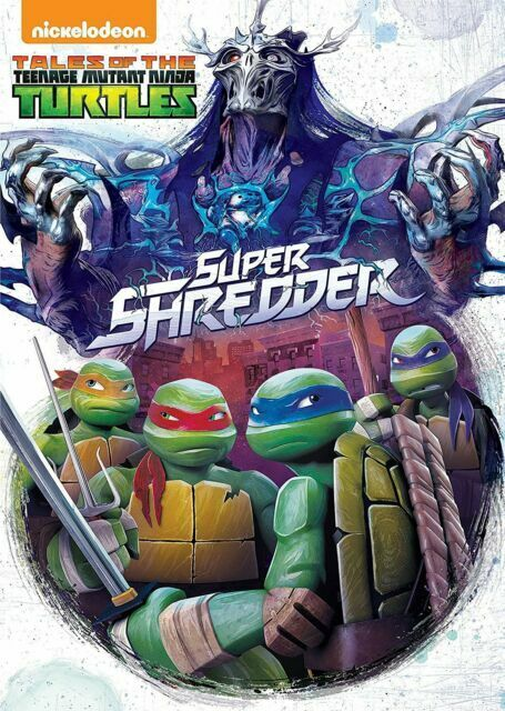 Tales Of The Teenage Mutant Ninja Turtles 2017 : tales, teenage, mutant, ninja, turtles, Tales, Teenage, Mutant, Ninja, Turtles:, Super, Shredder, (DVD,, 2017,, 2-Disc, Online