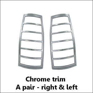 CHEVY TAHOE 4DR 1995-1999 FACTORY-FIT CHROME REAR TAIL