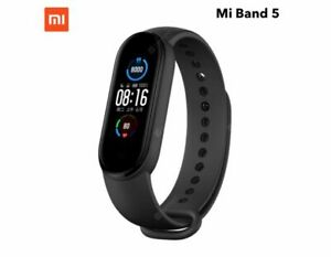 "Xiaomi Mi Band 5 Smart Band Bracelet Magnetic Charge 1.1"" Waterproof Miband 5"