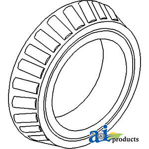 A-195675M1 Massey Ferguson Parts CONE TAPERED ROLLER TO35