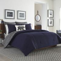 Eddie Bauer Kingston Reversible 3-piece Comforter Set | eBay