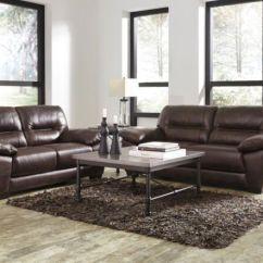 Ashley Leather Sofas And Loveseats Sofa Bed On Finance Bad Credit Furniture Mellen Loveseat Set 1740138 Ebay