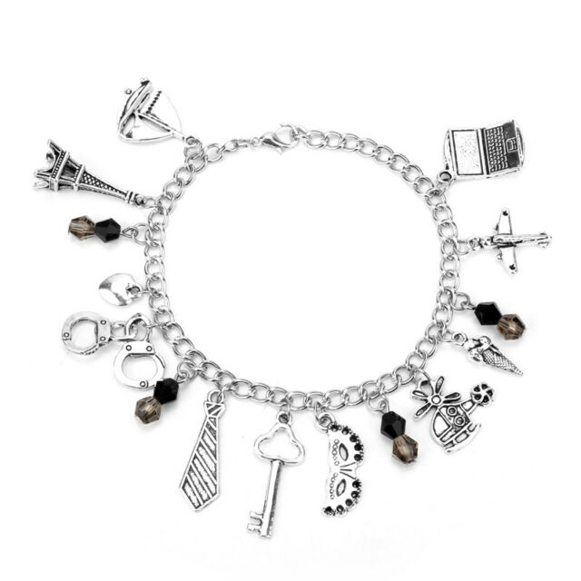 Free Shipping Fifty shades of Grey inspired charms