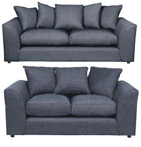 2 seater l shaped sofa bed big sofas in small rooms barcelona 3 or lh rh corner grey chenille shape image is loading