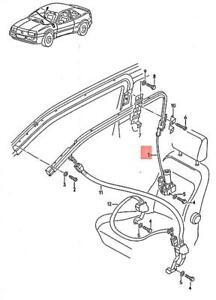 Genuine Volkswagen Electrical Restraint System Right NOS