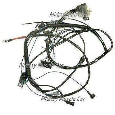 engine wiring harness V8 w/ AC 67 Pontiac GTO LeMans