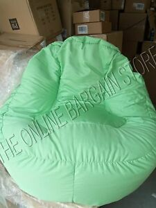 leanback lounger chairs dining chair upholstery fabric pottery barn kids pb teen lounge beanbag image is loading