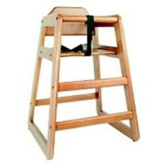 Restaurant Style High Chair Hiring Chairs Cape Town Commercial Wooden Baby Waln Ebay Image Is Loading