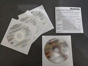 Genuine Lenovo Windows 7 System Recovery Disc Downgrade Apps Drivers New Sealed   eBay