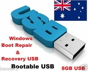 Windows Boot Repair And Recovery Usb Bootable 8gb Flash