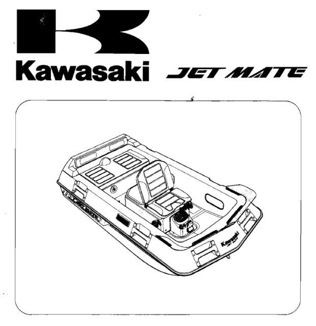 Kawasaki STX-15F 2004 2005 2006 2007 2008 2009 Jetski PWC