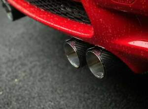details about bmw e92 93 m3 gloss carbon mpe style exhaust tips
