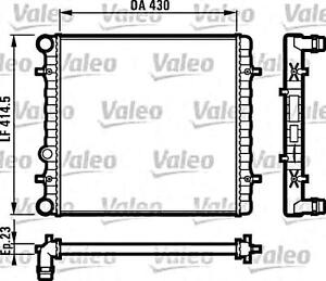 VALEO Engine Cooling Radiator Fits SEAT Leon SKODA Octavia