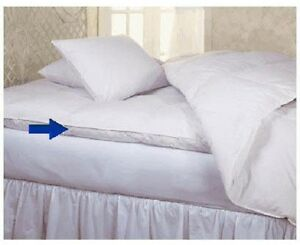 Image Is Loading King Bed Size Goose Feather And Down Mattress
