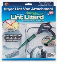Lint Lizard Dryer Vent Removal Attachment Clean Vacuum ...